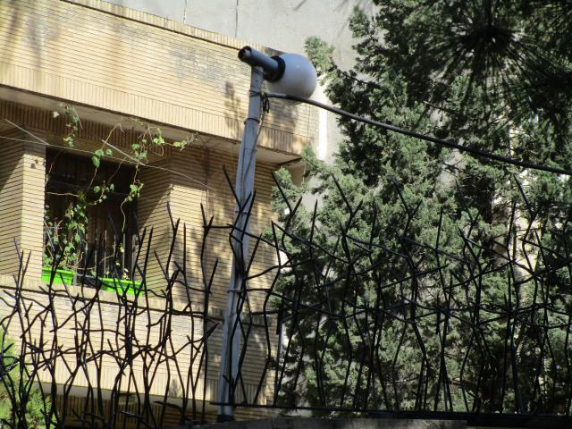 حفاظ شاخ گوزنی برای ساختمان مسکونی