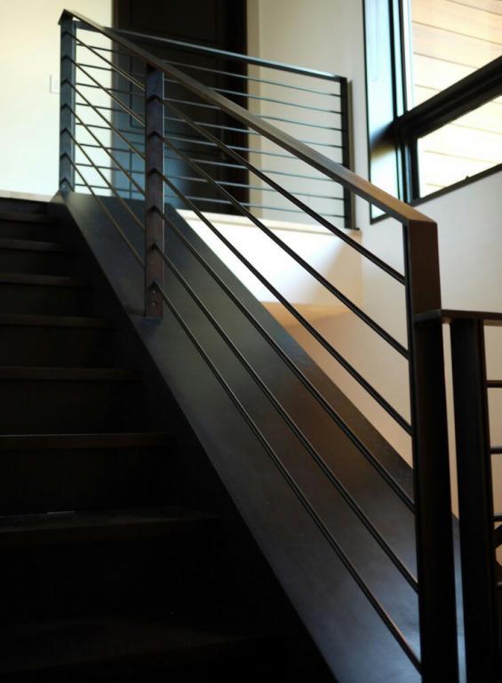 حفاظ راه پله ساده