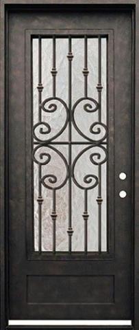 درب فلزی مشکی