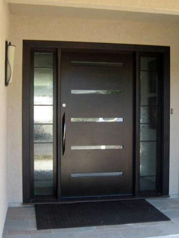 درب فلزی مدرن