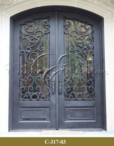 درب فلزی طرحدار